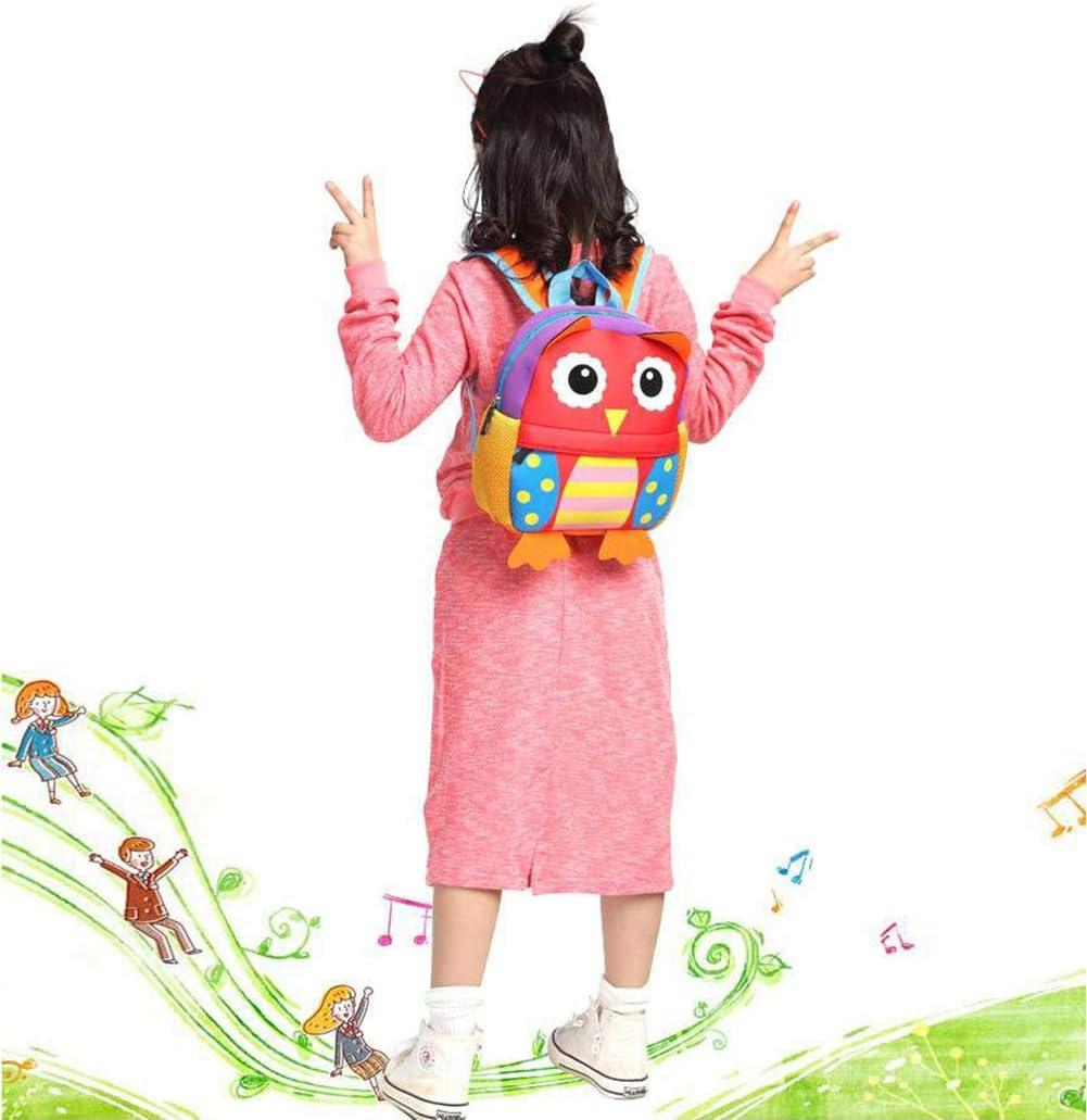 AOBETAK Conception de Animaux Petits Sacs d/école Cadeaux Sac /à Dos Ecole Pour Enfants Bebe De 2 /à 7 ans Sac A Dos Enfant Pour Garcon et Fille pour Scolaire Maternelle chien orange