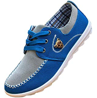 1542fa1571e6 Amazon.com: Men's Lace Up Outdoor Shoes Sports Loafers Casual ...