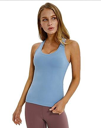 Zooma Mujer Camisetas de Tirante Cómodo Tanktop Lencería Deporte, Camiseta de Tirantes de Algodón para Mujer: Amazon.es: Ropa y accesorios