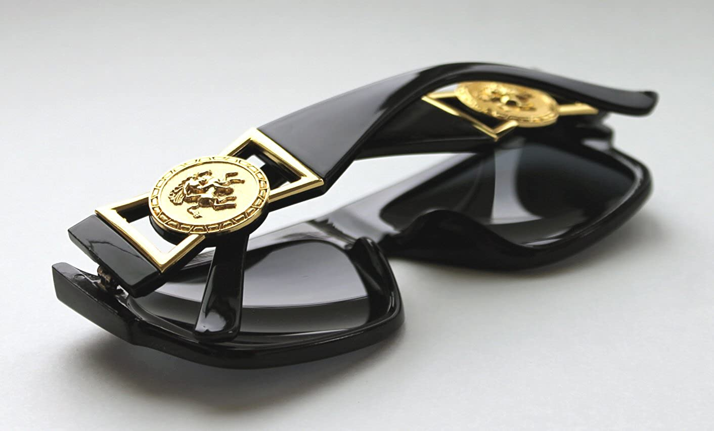 c5ab81e7c10 Amazon.com  MEN S FLAT TOP GOLD COIN DESIGNER HIP HOP VINTAGE 424 RETRO  80 S 90 S (Black Gold
