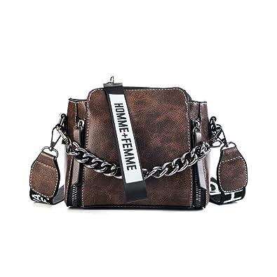 142fa109f17e1 Fishbag Damen Taschen Umhängetasche Abendtasche Messenger Tasche Handtasche  Leder Beuteltasche Elegant Vintage Schöne Schicke Herbst Winter