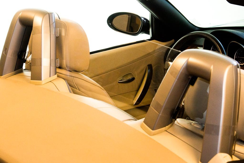 DEFLECTAIR(TM) - Wind Deflector for BMW Z4 2002-2008 Convertible - Clear