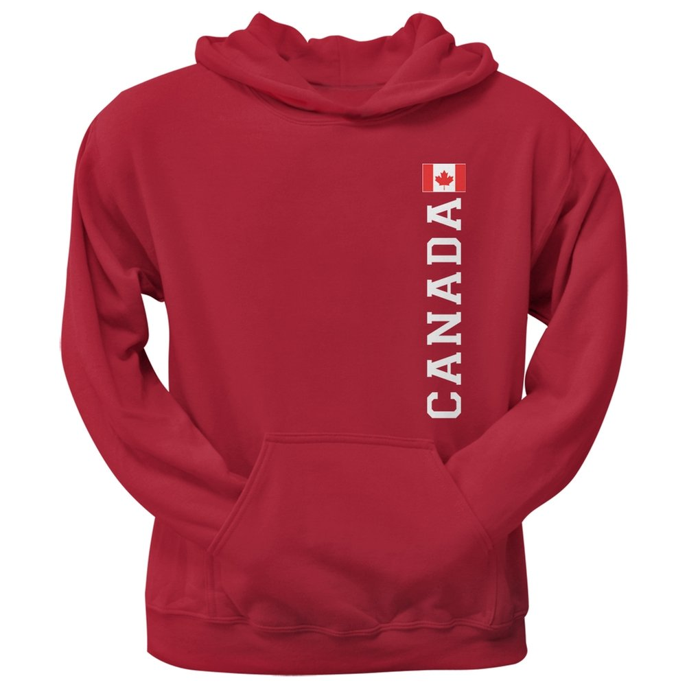 World Cup Canada Red Adult Pullover Hoodie - Large Tee' S Plus 92312-LG