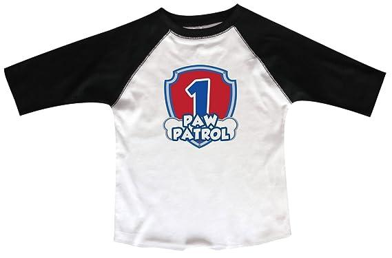 Funny Threadz First Birthday Raglan One Toddler Youth 3 4 Sleeves Baseball