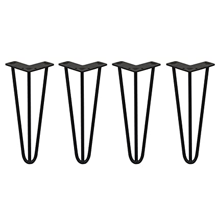 Wondrous Amazon Com 4 X Hairpin Legs Hair Pin Legs Set Skiski Legs Pabps2019 Chair Design Images Pabps2019Com