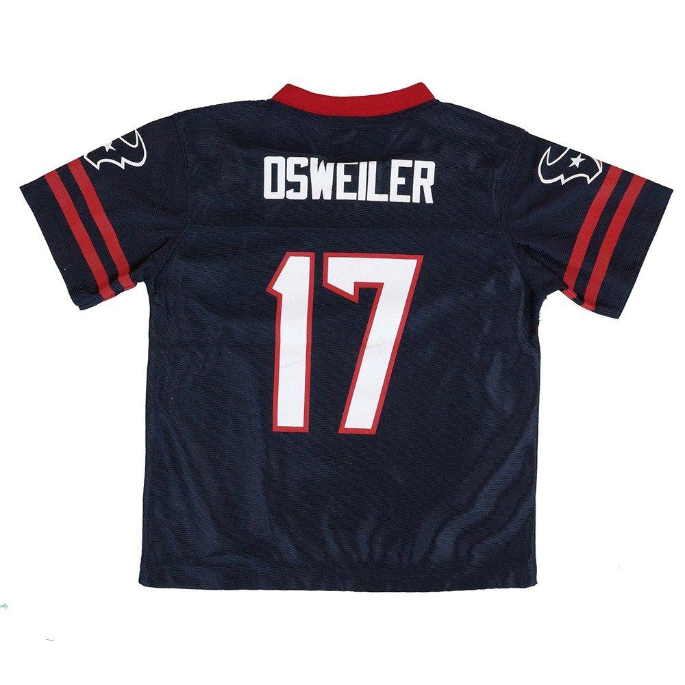 Brock Osweiler Houston Texans NFLホームNavyブルーレプリカジャージーToddler (2t - 4t) 3T  B07D342W7D
