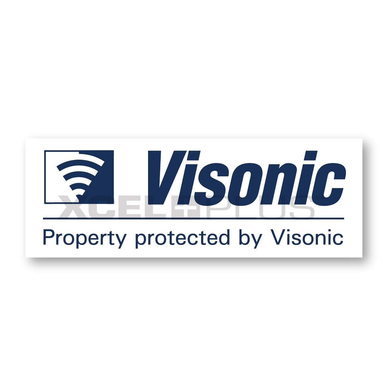 5X Visonic Alarm