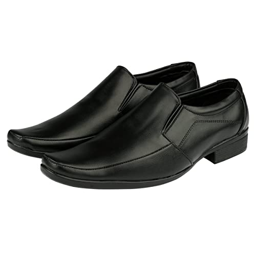 deb003c06 PARAGON MAX Men s Black Formal Shoes  Buy Online at Low Prices in ...