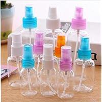 Perfume atomizador de plástico transparente en spray botella
