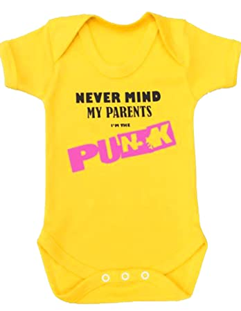 8dac98fd28d0 PUNK Baby Grow for Boys or Girls