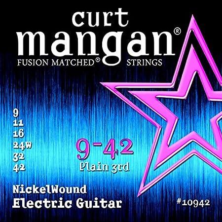 Curt Manganeso Strings 10942Guitarra Cuerdas