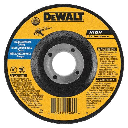 DEWALT DW8427S Cfree Thin Cutoff Wheel 7-Inch x.045 x 7//8-Inch