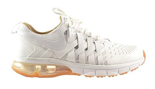 Nike Fingertrap Max Premium Gum Sole Pack Men s Shoes White Pale Shale-Volt- 9c8e51a05