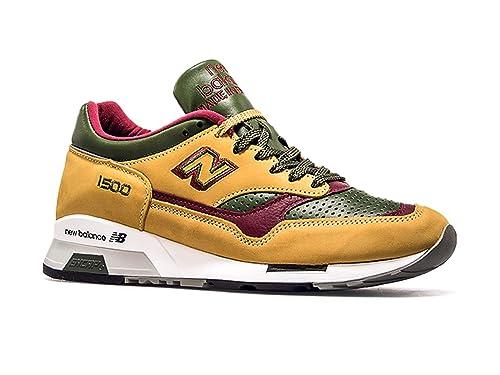 New Balance M1500TGB Ocker Green Bordo: : Schuhe