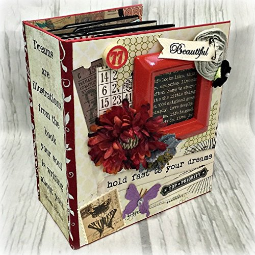DREAM Chipboard Scrapbook Scrapbooking Mini Album