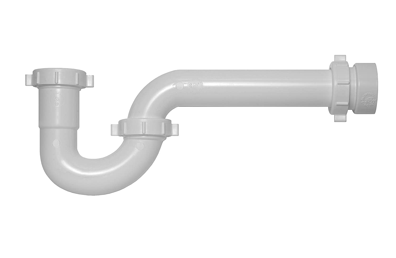 Oatey P9704 Dearborn Brass P-Trap with Threaded PVC Adapter