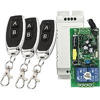 Homyl Électrique Universel Clonage Portail Télécommande De Porte Garage Ac 85-250v Récepteur - #4