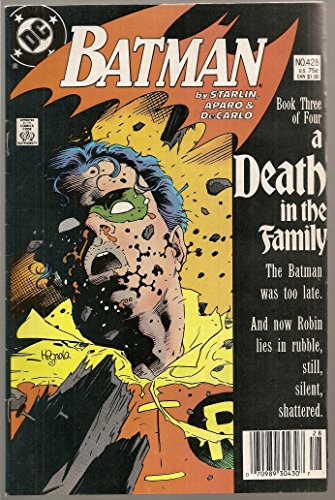 Batman #428 Death in the Family (Batman And Robin Death Of The Family)