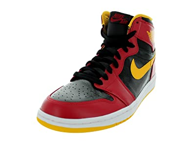 7a220a44c844fb NIKE Air Jordan 1 Retro High Knicks (555088-407) (10.5 D(