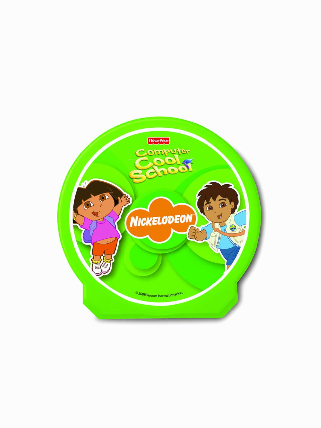 Fisher-Price Fun-2-Learn Computer Cool School Dora and Diego Software by Fisher-Price (Image #2)
