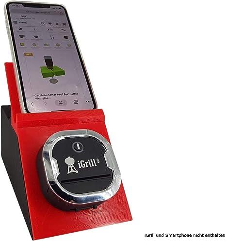 Soporte para el termómetro iGrill 3 Bluetooth con soporte de tableta para smartphone: Amazon.es: Hogar