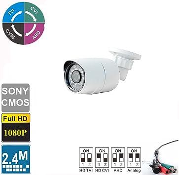 HD-TVI,CVI AHD 960H 4 in 1 1080P Dome Camera 2.4MP 2.8~12mm Sony CMOS Outdoor