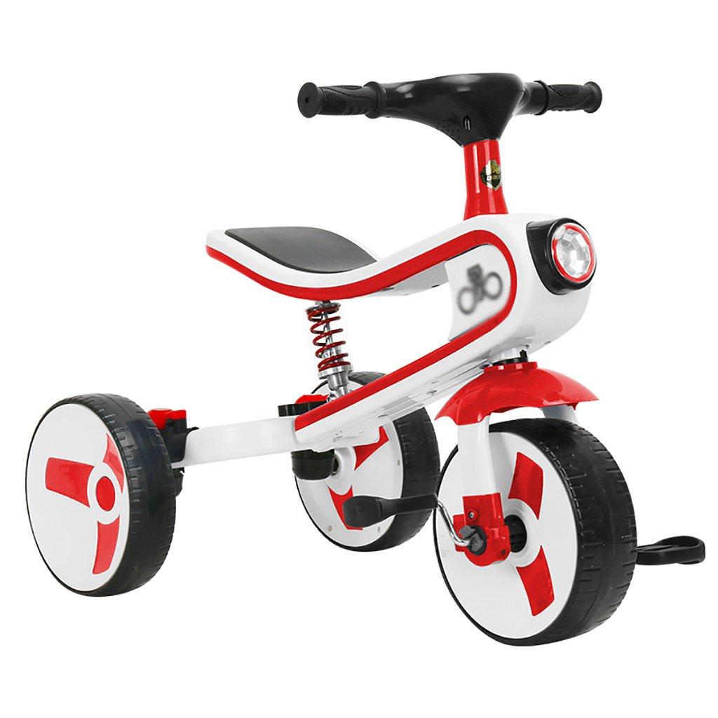 子供用トライク、三輪車の乗り物バイク、赤ちゃんの滑り自転車、おもちゃの自転車、自転車の子供、フットペダルの3つの車輪 (色 : C) B07DVC2H6H C C