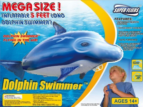 (Air Swimmer Flying Dolphin (Remote Control))