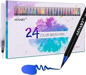 Free Water Color Brush Pens
