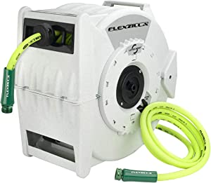 "Flexzilla Retractable Water Hose Reel, 1/2"" x 70' - L8340FZ"