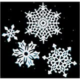 Cutting Dies Snowflake for Scrapbooking Tools Christmas Card Making Decoration (4pcs/Pack Big Snow die cuts)