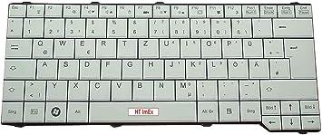HT-ImEx Tastatur 5N20H03482 PK131BJ2A19 mit Silber Rahmen ohne Hintergrundbeleuchtung Deutsches Tastaturlayout kompatibel f/ür P//N: V-149420CK1-GR Farbe: Schwarz