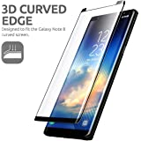 Vitious™ Full Coverage Edge-to-Edge with HD Clearance Premium Quality Tempered Glass Screen Protector for (Samsung Galaxy Note 8 / Note 9)
