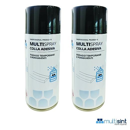 2 opinioni per Multisint MultySpray- Nuova Colla Spray per Pannelli Fonoassorbenti 400 ml