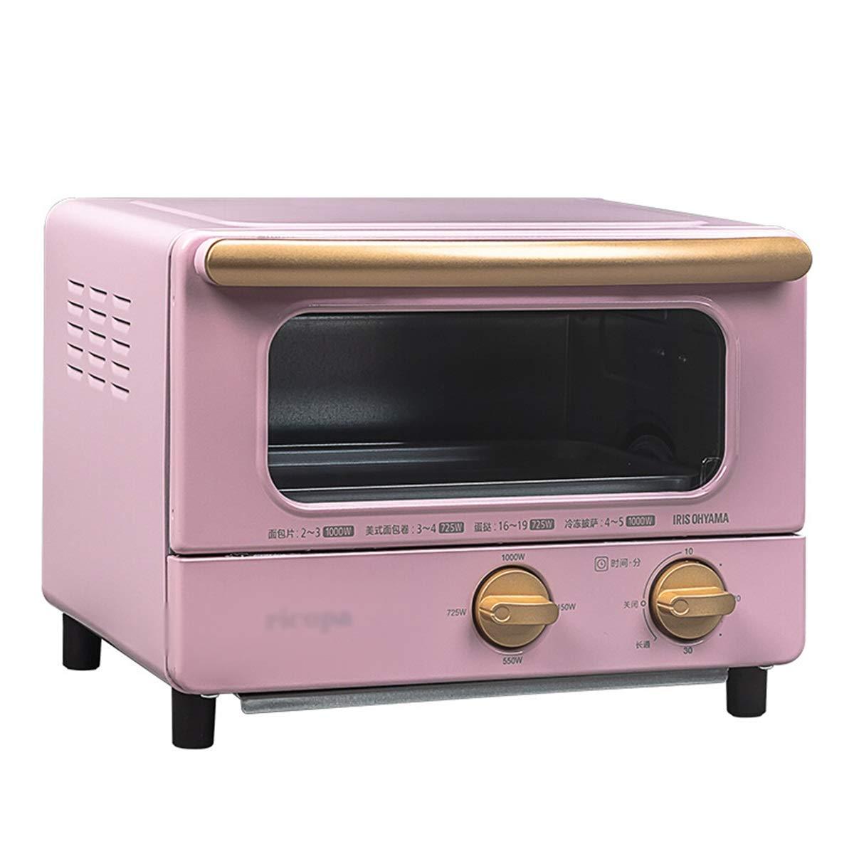 ZCYX ミニオーブン - 電気オーブン多機能家庭用オーブンミニ小型オーブンハイパワーベーキングオーブン -7487 オーブン (色 : ピンク) B07RT685MH ピンク