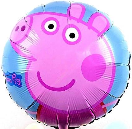 10x R17F2 Helio Globos Pepa Cerdo Wutz Cumpleaños de los ...