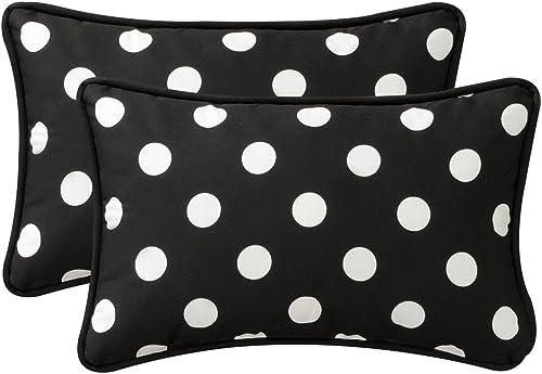 Pillow Perfect Decorative Polka Dot Toss Pillow