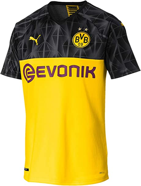 PUMA Mens BVB Casuals Tee with Evonik Logo