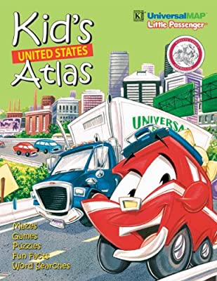 Kid's Interstate Road Atlas: Activity Map