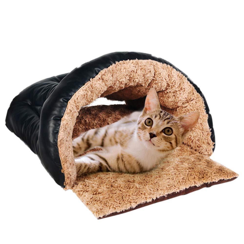 A 523626cm a 523626cm Pet cat Sleeping Bag, Autumn and Winter Kennel cat Litter, Small Kennel mat,a,52  36  26cm