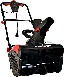 PowerSmart Snow Blower, 15 AMP Electric Snow Blower, 120V 60HZ Corded Snow Blower, Electric Single Stage Snow Blower 18-INCH Remove Width, DB5017