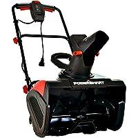 PowerSmart Snow Blower, 15 AMP Electric Snow Blower, 120V 60HZ Corded Snow Blower, Electric Single Stage Snow Blower 18…