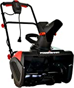 PowerSmart Snow Blower, Electric Single Stage Snow Blower 18-INCH Remove Width,