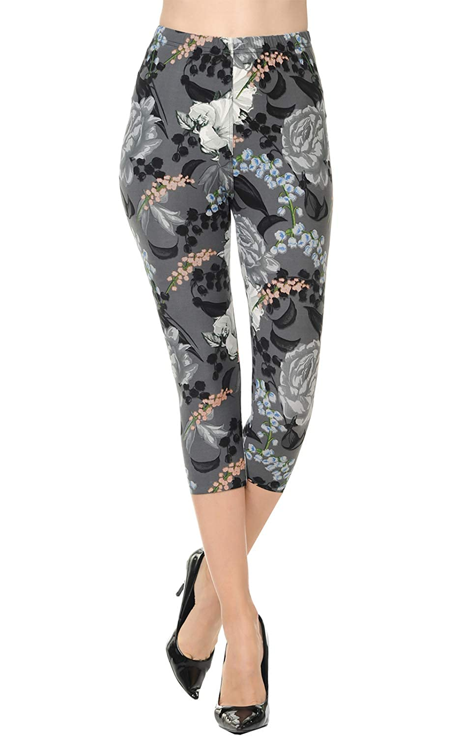 4d36ecd176b9c If you love VIV Collections printed leggings, then these brand new capris  are just for you! All of our brushed leggings consist of Polyester and  Spandex.