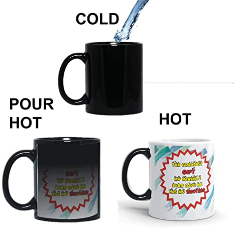 Buy Family Shoping Birthday Gifts For Brother New Year Colourfull Parents Gift As Bro Coffee Magic Mug 320ml Mugs Online At Low