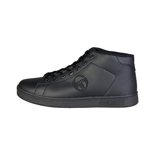 Sergio Tacchini GRANTORINO MID 724118 Sneakers Uomo Nero 44  Amazon ... 5eb06b825d1