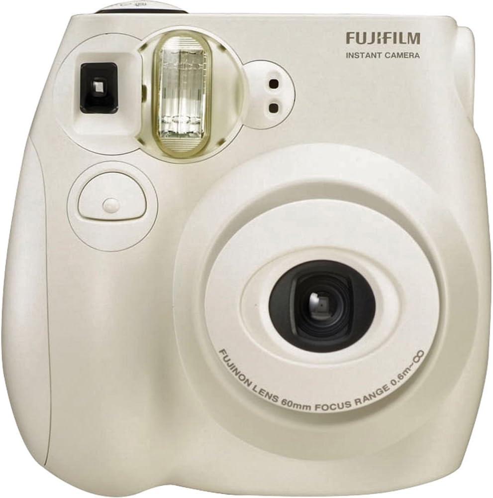 Fujifilm Instax MINI 7s White Instant Film Camera (Renewed)