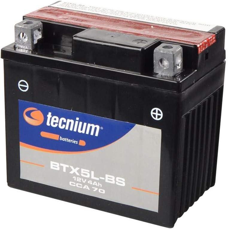 Compatibile con CRF 230-250 X 125 NSR//XR//CITY FLY-TRX 90 X//EX 400 NSR-Bbatteria TECNIUM BTX5L-BS 329802.