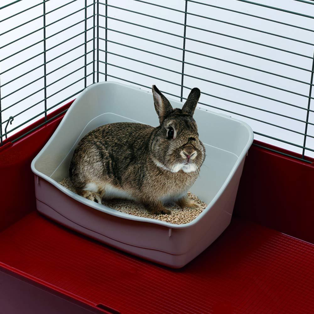 Ferplast Bandeja Sanitaria para Conejos L 305, Aseo para jaulas de ...