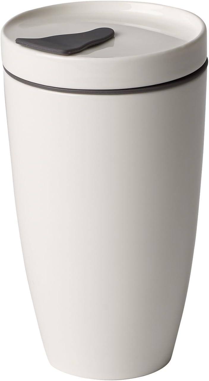 Villeroy & Boch to Go Coffee Mug, Crockery Porcelain, White, 350 ml